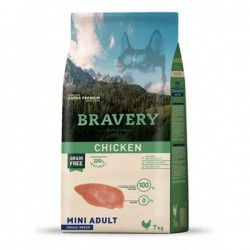 BRAVERY GRAIN FREE ADULT POLLO RAZAS MINI