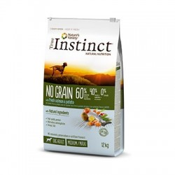 True Instinct No Grain Medium-Maxi Salmón