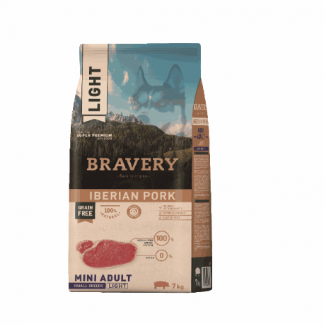 Bravery Light Iberian Pork Mini Adult Small Breeds