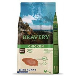 BRAVERY GRAIN FREE PUPPY POLLO RAZAS MINI