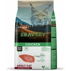 BRAVERY CHICKEN ADULT CAT STERILIZED