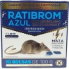 Raticida Ratibrom Azul Superapetente 1 kg
