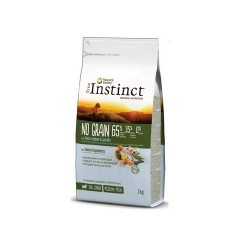 True Instinct No grain Med/Maxi junior Salmón